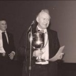Tom Ainsworth Receives the Roebuck Cup