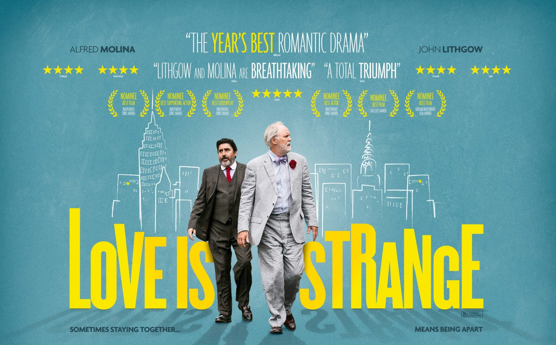 Love is Strange Poster - Cinema For All